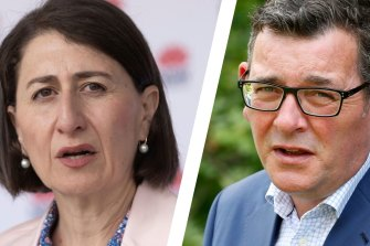 Berejiklian says Victoria should have re-opened borders 'quite a while back'; Six new cases in NSW