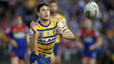 Eel deal: Mitchell Moses wants to get his future with Parramatta sorted.
