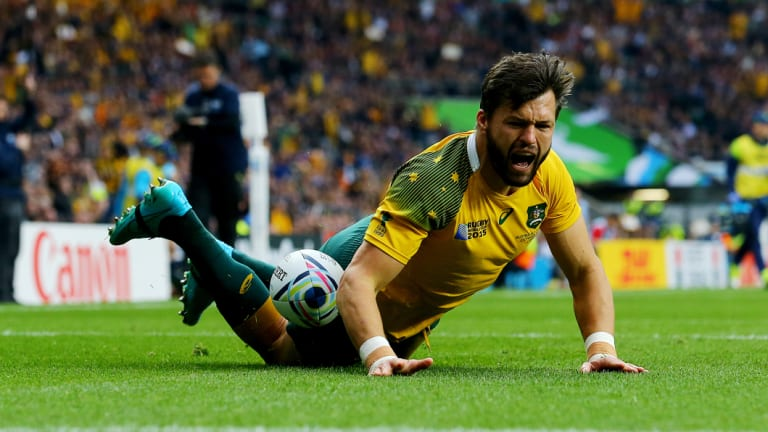 Surprise call-up: Adam Ashley-Cooper has joined the Wallabies for their spring tour.
