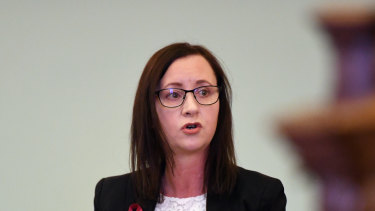 Attorney-General Yvette D'Ath is due to introduce a human rights bill into the Queensland Parliament this week.