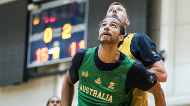 Xavier Cooks put in the hard work at Boomers camp and came away with a World Cup squad spot.