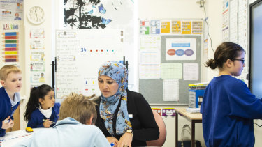 Arncliffe Public School's results have improved thanks to the Bump It Up program.