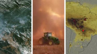 Amazon fires rage, sparking political debate in Brazil