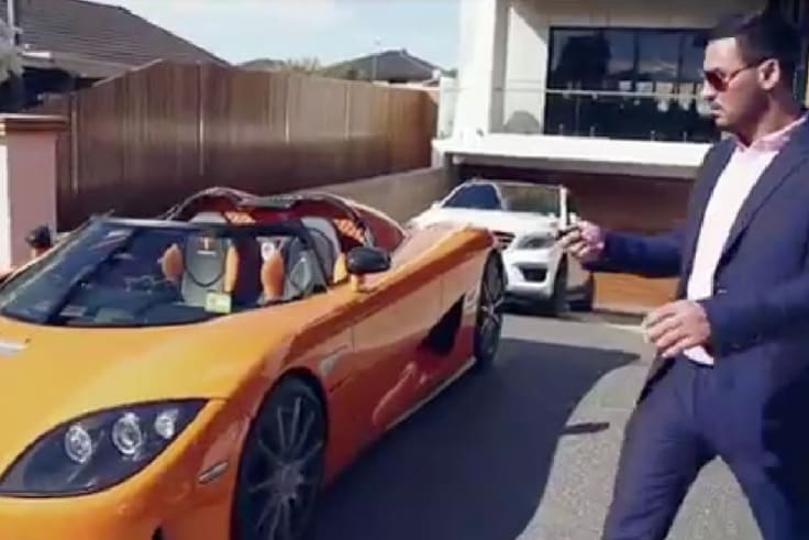 Mehajer is used to a lavish lifestyle.