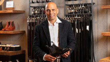 RM Williams chief executive Raju Vuppalapati is looking at more Australian leathers.
