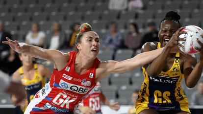 Klau crowns strong season by winning Swifts MVP gong