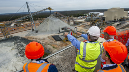 New WA lithium plant whirs to life but expansion plans still on ice