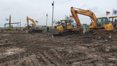 New cemeteries are being built in a hurry in Jakarta to bury the COVID dead.