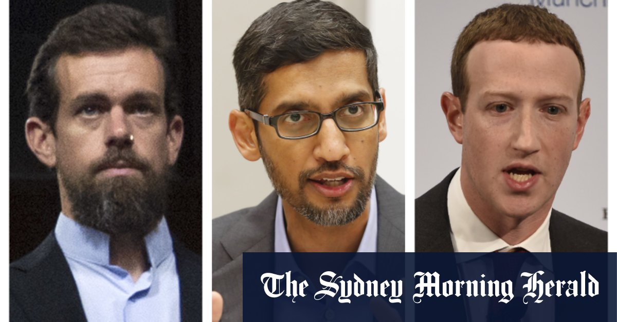 'Who the hell elected you?': US Senate tech hearing becomes political tussle – Sydney Morning Herald
