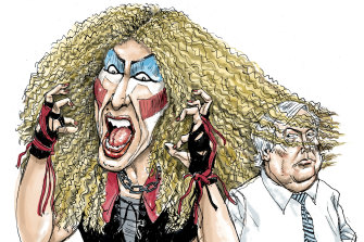 """Mr Palmer's image is not good for my heavy metal image,"" Dee Snider told federal court this week."