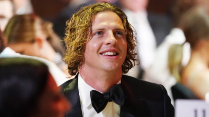 Docker Nat Fyfe races to second Brownlow victory