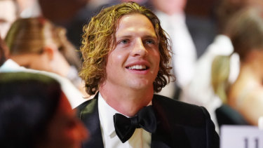 Fremantle's Nat Fyfe wins the Brownlow for a second time.