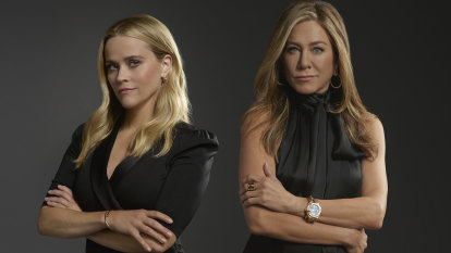 'You kind of live a split life': Morning Wars' stars on the facade of TV