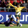 Rusty Matildas will improve, says Kerr, as star prepares for overdue rest
