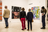 The first day of the 2020 Archibald Prize exhibit at the Art Gallery of NSW.