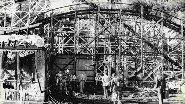 Luna Park ghost train fire, 1979.
