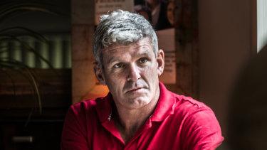 Former AFL footballer Shaun Smith has spoken openly about his battles.