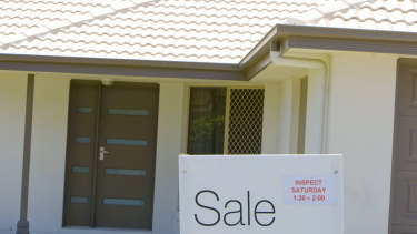 The fall in property prices could put major pressure on consumption.