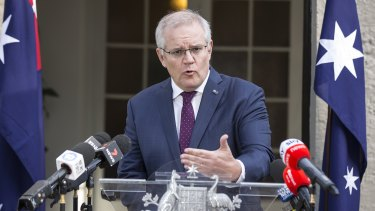 Prime Minister Scott Morrison has announced changes to the COVID-19 disaster payments.