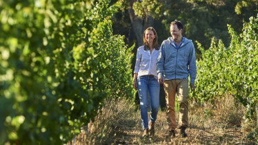 Rob and Genevieve Mann of Corymbia.