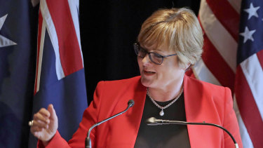 Speaking in Perth on Monday, Defence Minister Linda Reynolds said the government had yet to decide on whether submarine maintenance would be moved to WA from South Australia.