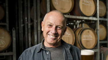 Phil Sexton is about to convert his Giant Steps winery at Healesville into a brewery, in a partnership with CUB.