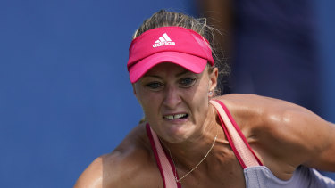 France's Kristina Mladenovic is one of 10 players who came in contact with compatriot Benoit Paire.
