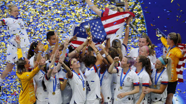 The United States: World Cup champions – again.
