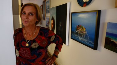 Tracey McArdle, a 30-year veteran of the short-term rental market at her home in Redfern.