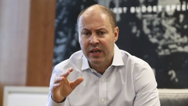 Treasurer Josh Frydenberg is hoping families will start spending the $100 billion accumulated on household balance sheets during the pandemic.