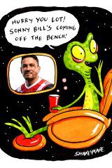 Sonny Bill's back!
