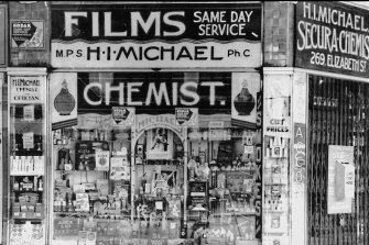 It was also a chemists and then branched out into photography.