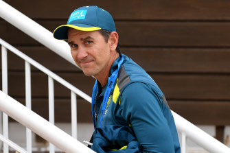 Justin Langer says players could potentially be living in hubs for months.