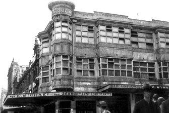 The store began as a gun and pawn shop.