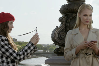 Emily in Paris has been criticised for its tourist-brochure depictions of Paris, but it's also a tonic for dark times.