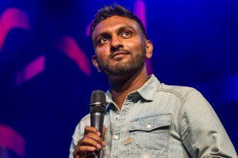 Nazeem Hussain: comedy is the best job in the world.