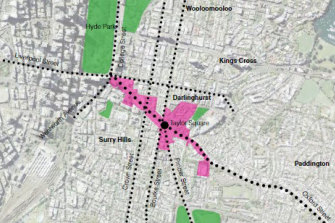 The City of Sydney is proposing to allow the Oxford Street area between Surry Hills and Paddington to have taller buildings.