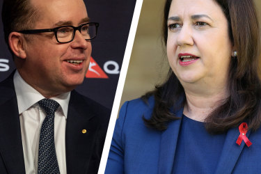 'Frankly, this is ridiculous': Qantas CEO blasts Queensland border decision