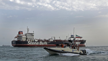 The Iranian Revolutionary Guard captured the Stena Impero, which is owned by a Swedish company but flies under a British flag, and took it and its 23 crew to an Iranian port last Friday.