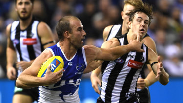 No arguments: Ben Cunnington's display against the Pies reconfirmed his elite status.