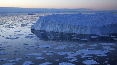 The stark, icy beauty of Antarctica.