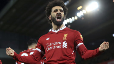 Liverpool's Mohamed Salah has taken the Premier League by storm.