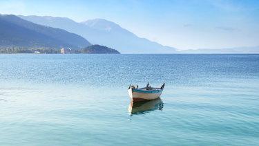 Escape the rat race on Macedonia's serene Lake Ohrid.