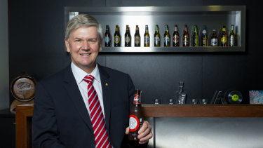 Coopers Brewery managing director Tim Cooper.