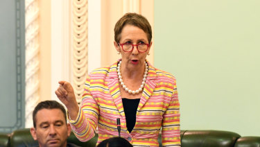 "Child Safety Minister Di Farmer told the Parliament on Tuesday that the Labor government was ""committed to changing the life trajectories of the young people in our justice system""."