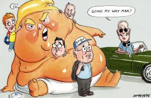 Trumpist fantasy still captivates the odd Australian politician