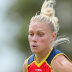 Erin Phillips has relinquished the Crows captaincy.