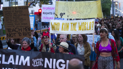 Women unite in anger to march on Parliament and across the nation