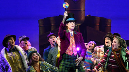 More style than substance in Charlie and the Chocolate Factory