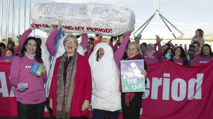 States and territories agree to axe 'tampon tax'